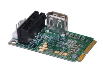Pm2c Mini Pci E To Pci E Usb Adapter M Factors Storage